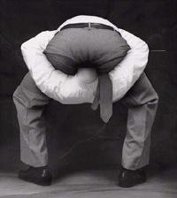 Head up arse